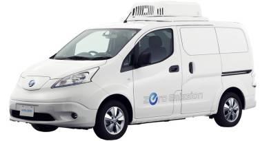 Nissan Paramedic y e-NV200 Fridge, ambulancia y furgoneta frigorífica totalmente eléctrica.