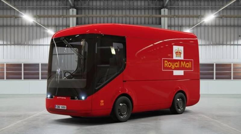 Royal Mail probará los nuevos camiones eléctricos de Arrival