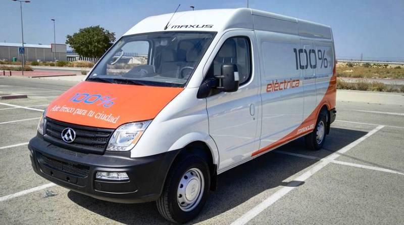 Maxus presenta la EV80, la furgoneta eléctrica de 3.500 kg