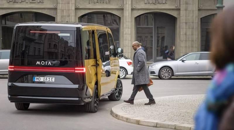 Volkswagen presenta la furgoneta eléctrica de su servicio de trasporte compartido MOIA