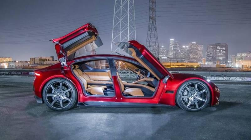 """Fisker EMotion. Se presenta el """"anti-Tesla"""" con 780 km de autonomía"""