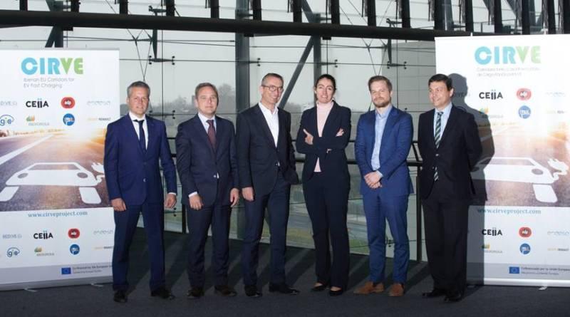 El proyecto CIRVE contará con interoperabilidad en sus 40 cargadores rápidos