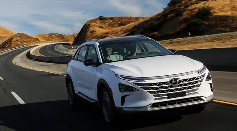Hyundai NEXO, el SUV con pila de combustible de la firma coreana