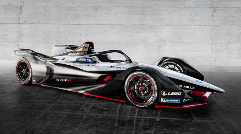 Nissan presenta el monoplaza con el que competirá en Formula E