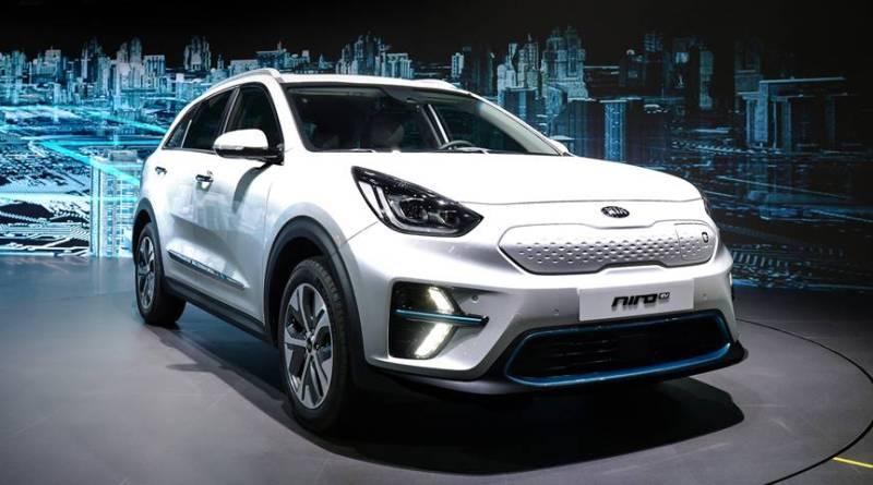 Kia presenta el Niro EV, un CUV con 450 km de autonomía a la venta a finales de año