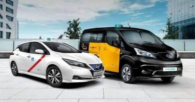 El nuevo Nissan LEAF ya puede usarse como taxi en Madrid y Barcelona