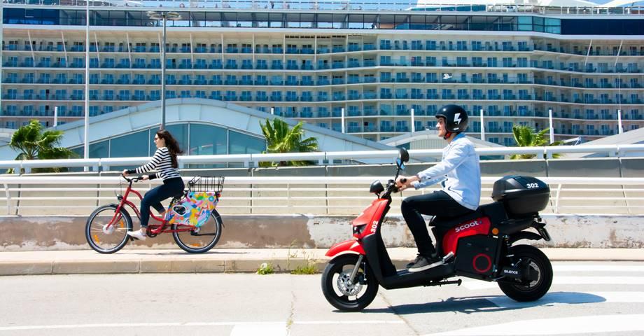 Scoot, la compañía americana pionera en motosharing, llega a Barcelona
