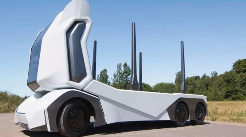 The T-log, el camión eléctrico y autónomo del futuro