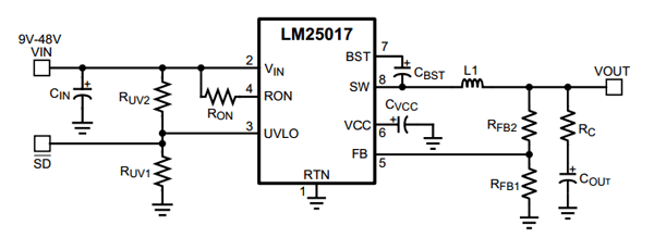 dc to dc step down voltage regulator by ic lm2576