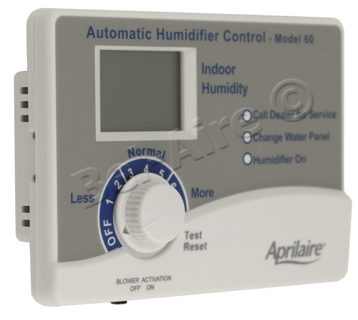 Aprilaire 60 Automatic Digital Humidistat w/Outdoor Sensor