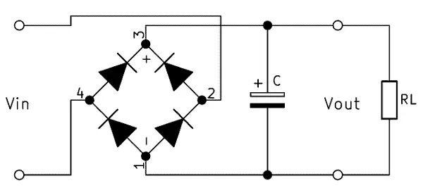 smoothing capacitor circuit