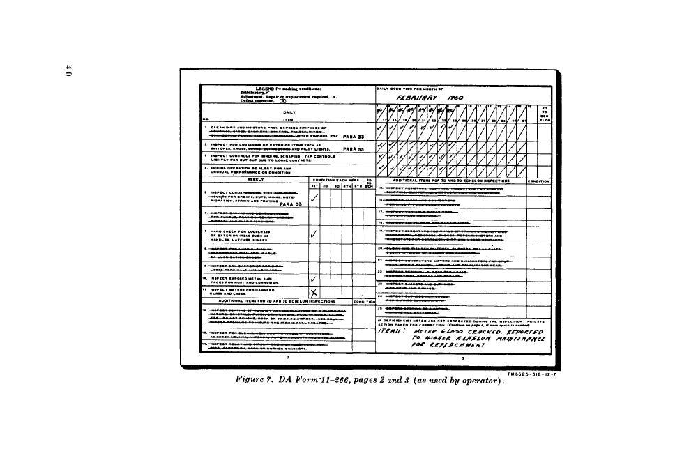 Figure 7 DA Form 11-266, Page 2 and 3 - da form