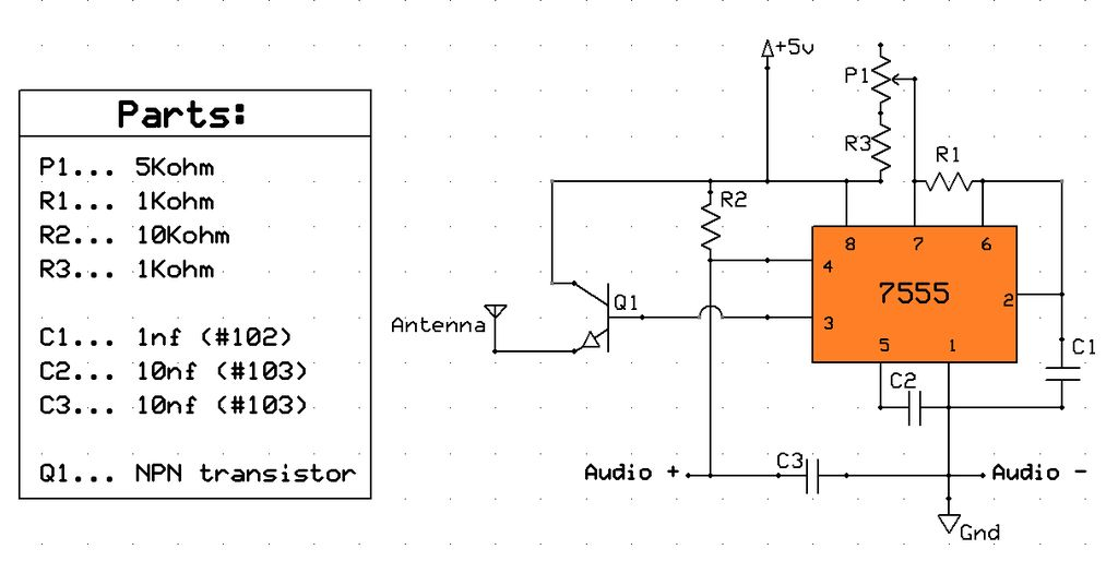 Am Radio Transmitter Circuit Electronic Schematics collections