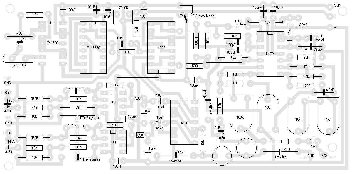 esr tester schematic diagram
