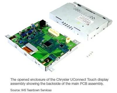 Teardown The Chrysler UConnect Touch Infotainment Platform