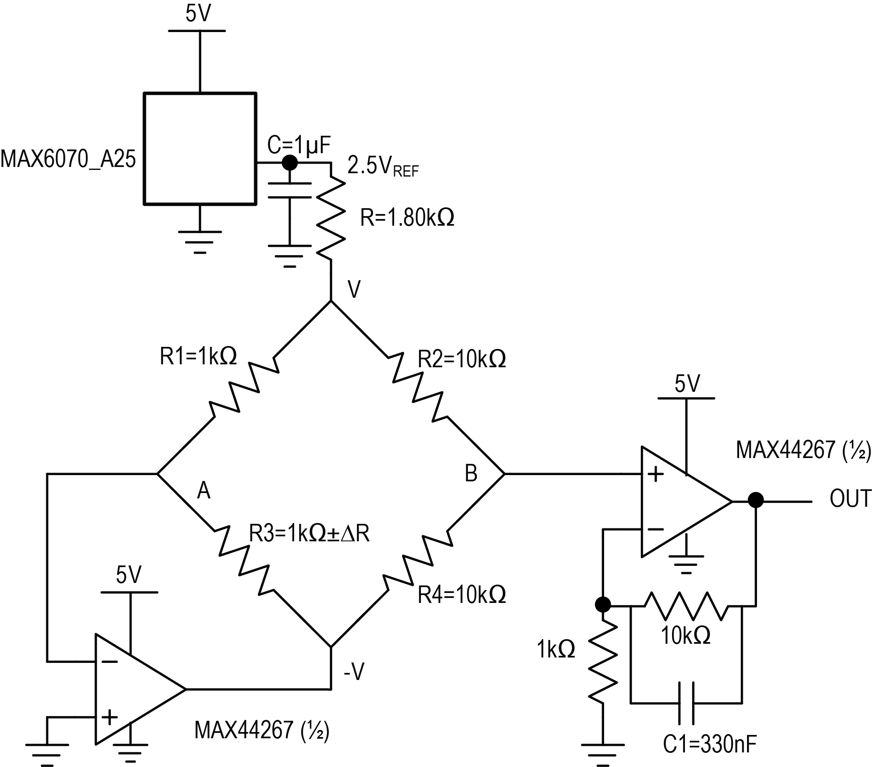 single supply op amp design