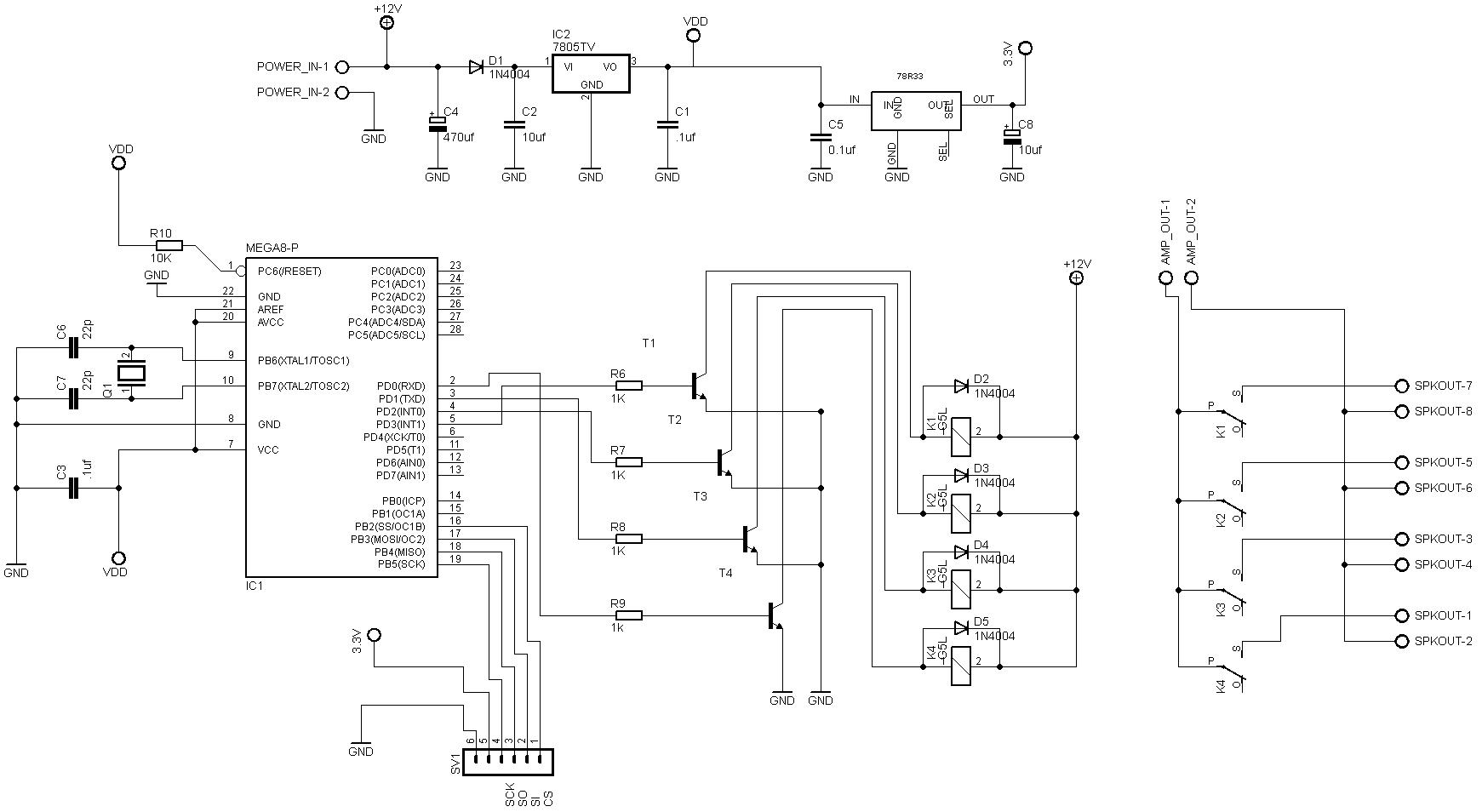 arduino relay module circuit diagram