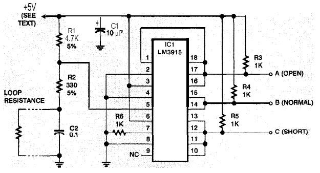 safer security system alarm circuit diagram