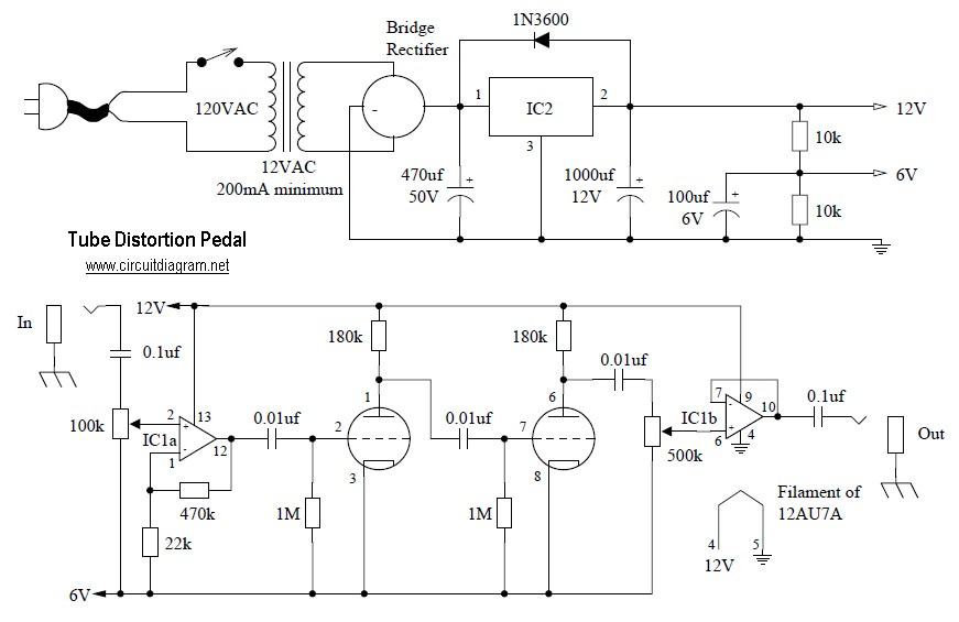 Univibe Pedal Wiring Diagram Wiring Diagram 2019