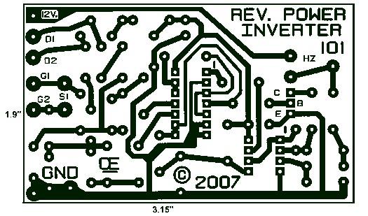 1000W Power Inverter PCB Layout Design \u2013 Electronic Schematic Diagram