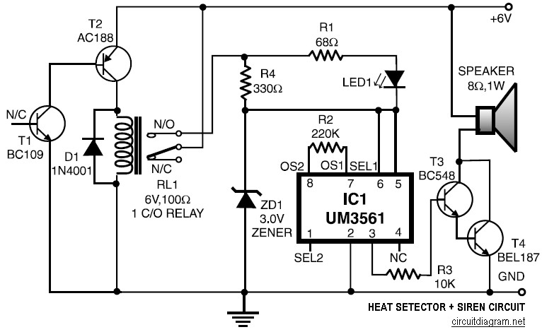 siren wiring diagram
