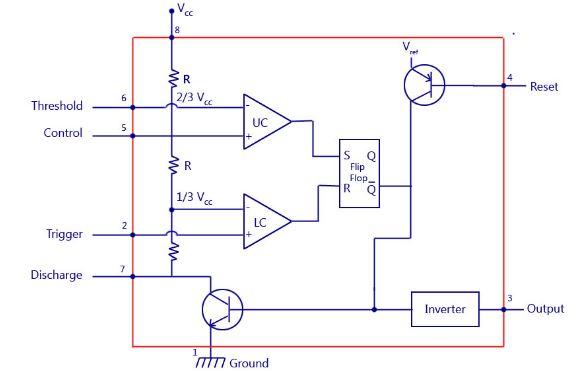 555 led flasher wiring diagram