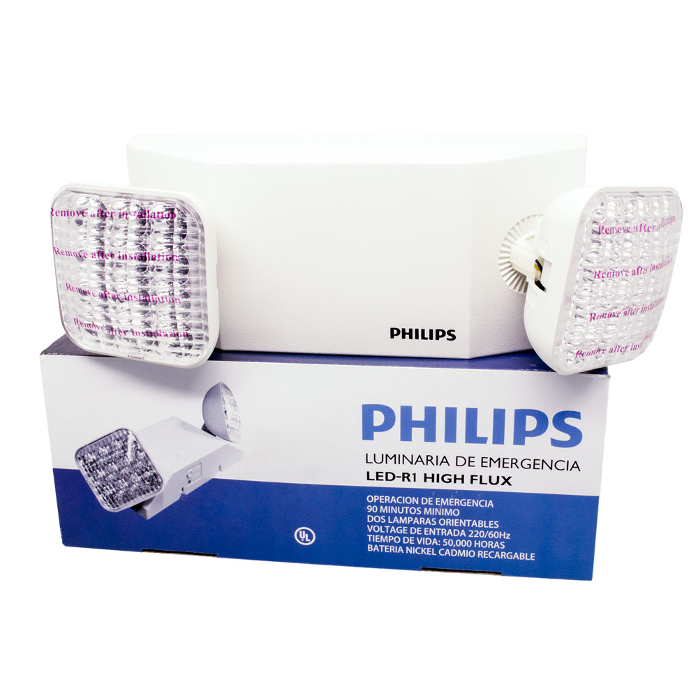 Emergencia Led Lampara De Emergencia Led Philips