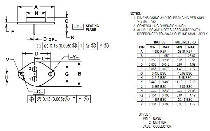 2n3055 24w class a audio amplifier