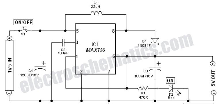scr 12v to 5v usb converter