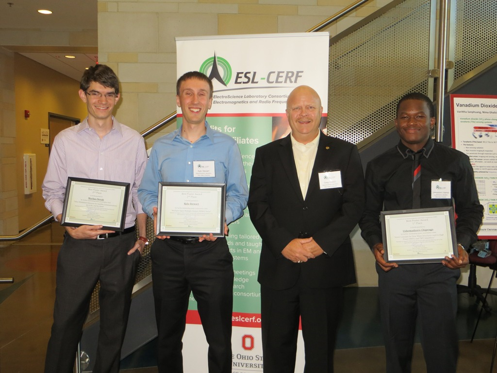 Poster Cerf 2015 Best Cerf Poster Awards Electroscience Laboratory