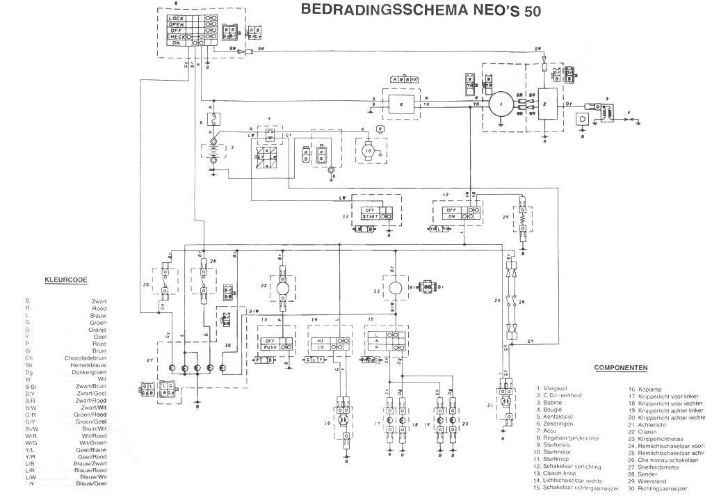 wiring diagram yamaha neos