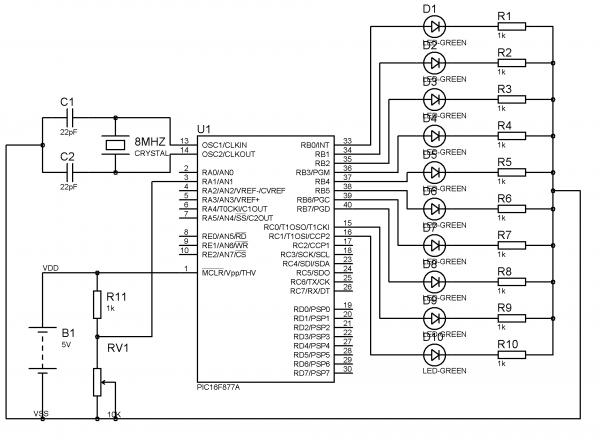 analog to digital converter with pic microcontroller mikroc