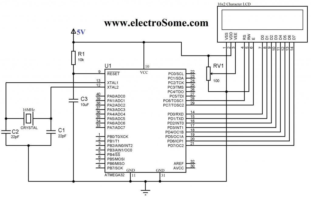 Lcd Wiring Diagram Wiring Diagram 2019