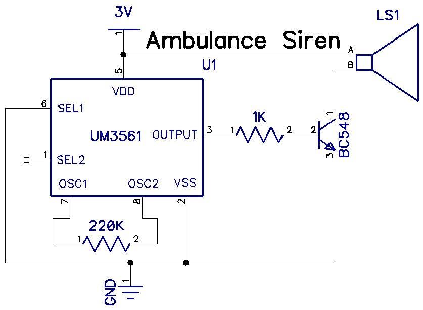 Fire Engine Siren Wiring Diagram Schematic Diagram