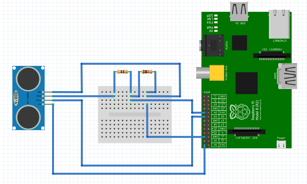 raspberry pi b circuit diagram