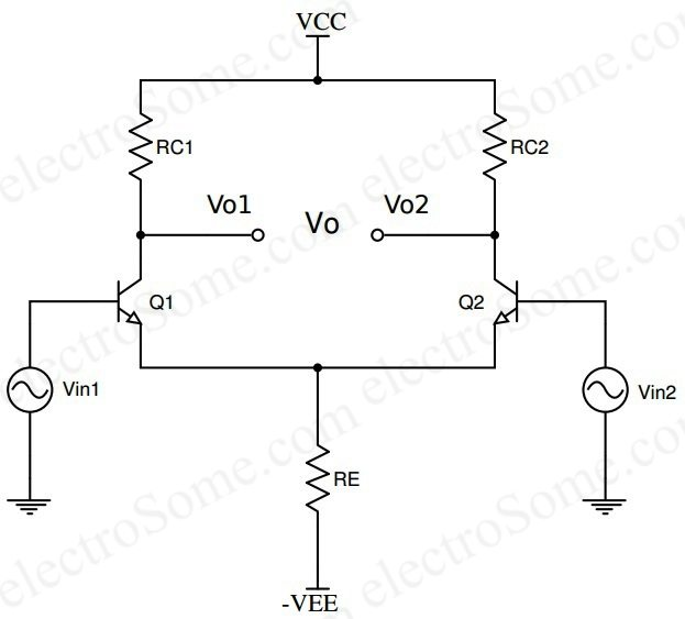 single transistor amplifier circuit diagram