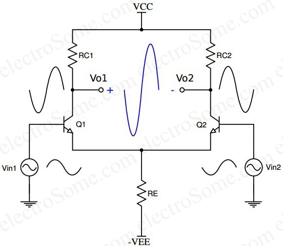 dc voltage amplifier circuit using transistor