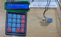 Electronic Keypad Door Lock Circuit. electronic door lock ...