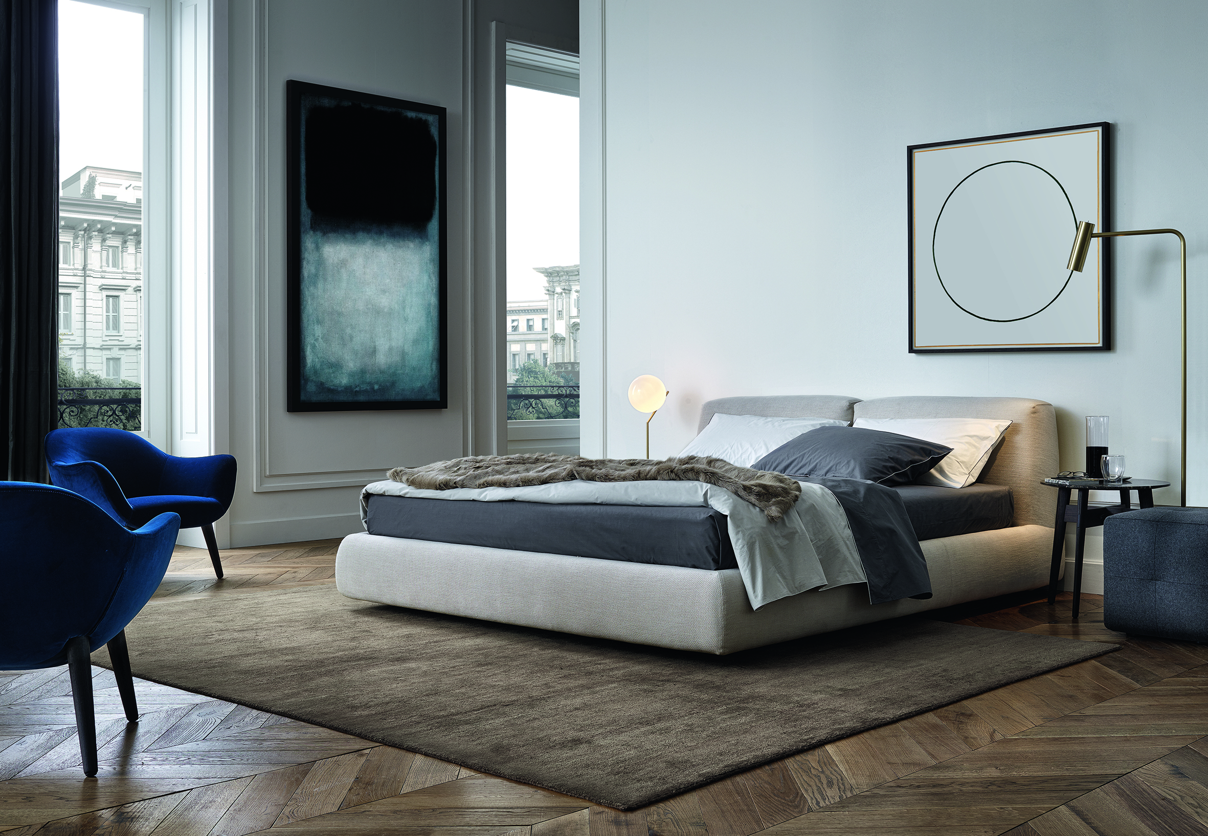Italian Furniture Bedroom Poliform