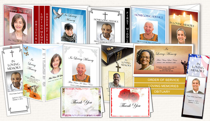 Funeral Program No Cover Photo Sample Funeral Program - how to make a funeral program in word