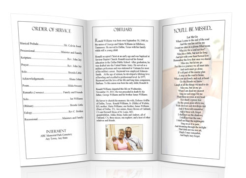 ... Christian Funeral Programs Sample Funeral Program Christian   Catholic Funeral  Program ...  Funeral Programs Examples