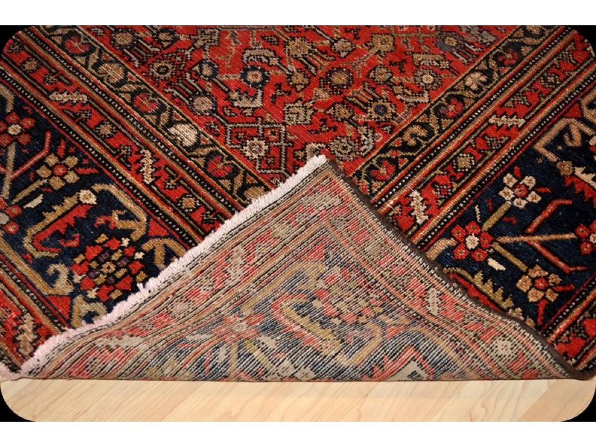 Vintage Hall Rugs Wide Hall Runner Antique Persian Malayer Rug 7 39; X 14