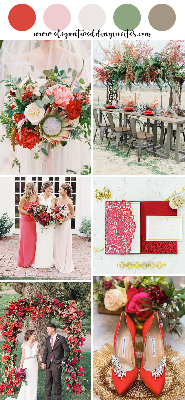 10 Beautiful Spring And Summer Wedding Colors Elegantweddinginvites Com Blog