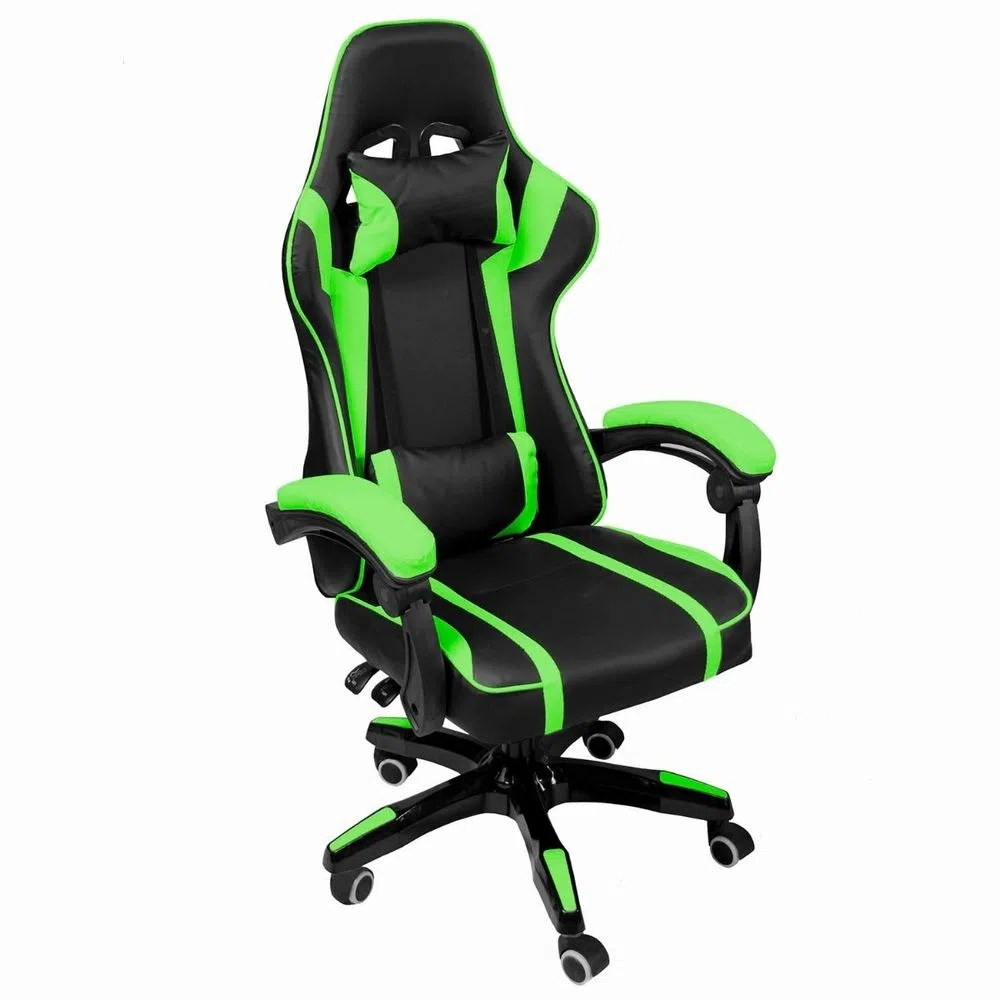 Sillas Ergonomicas Para Pc Silla Gamer Audiotek Verde Gaming Consola Pc Ergonomica Reclinable