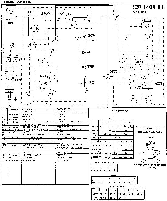 zanussi zer wiring diagram
