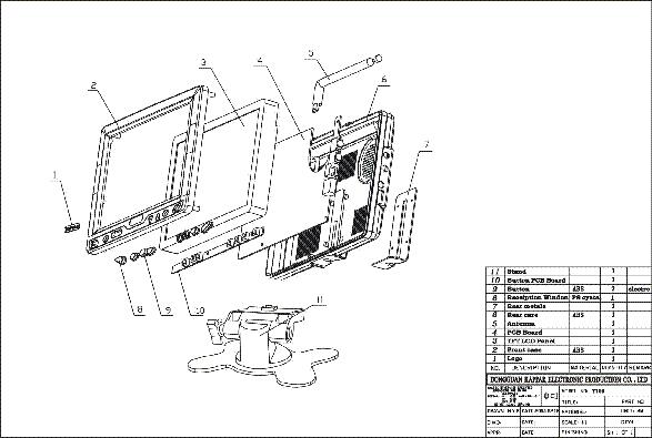 hyundai q17 lcd monitor schematic diagram