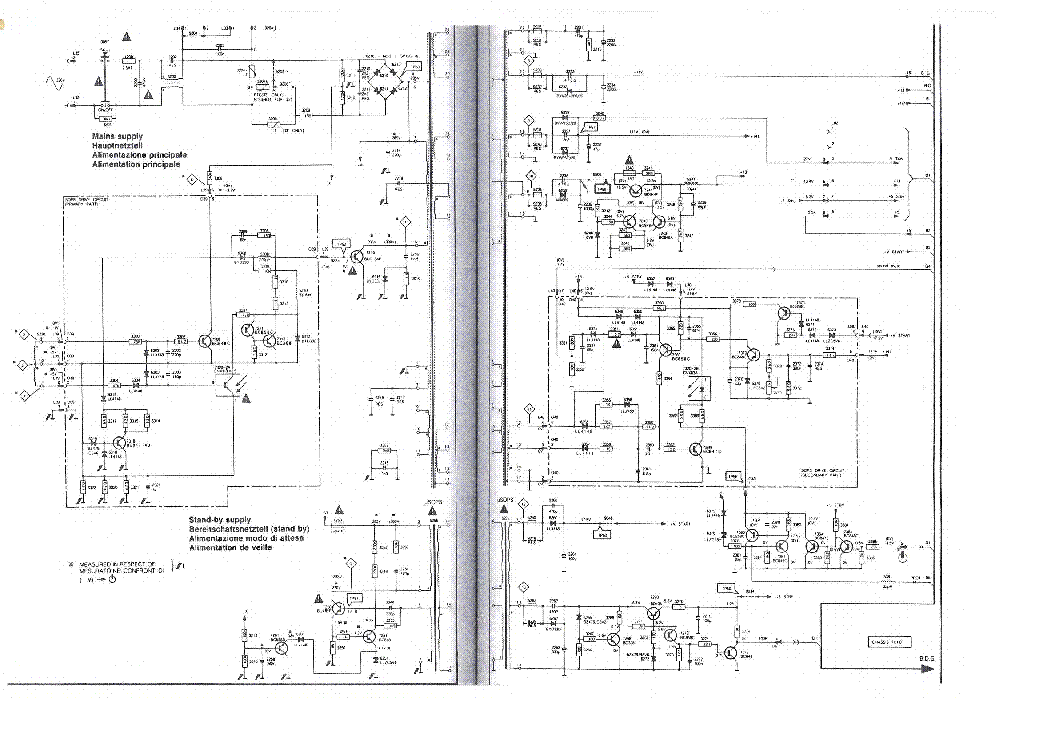 philips fl1 chassis circuit diagram 2 page preview