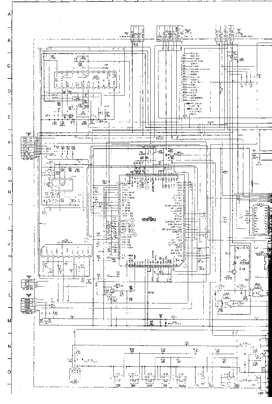 sony d2202 schematic diagram