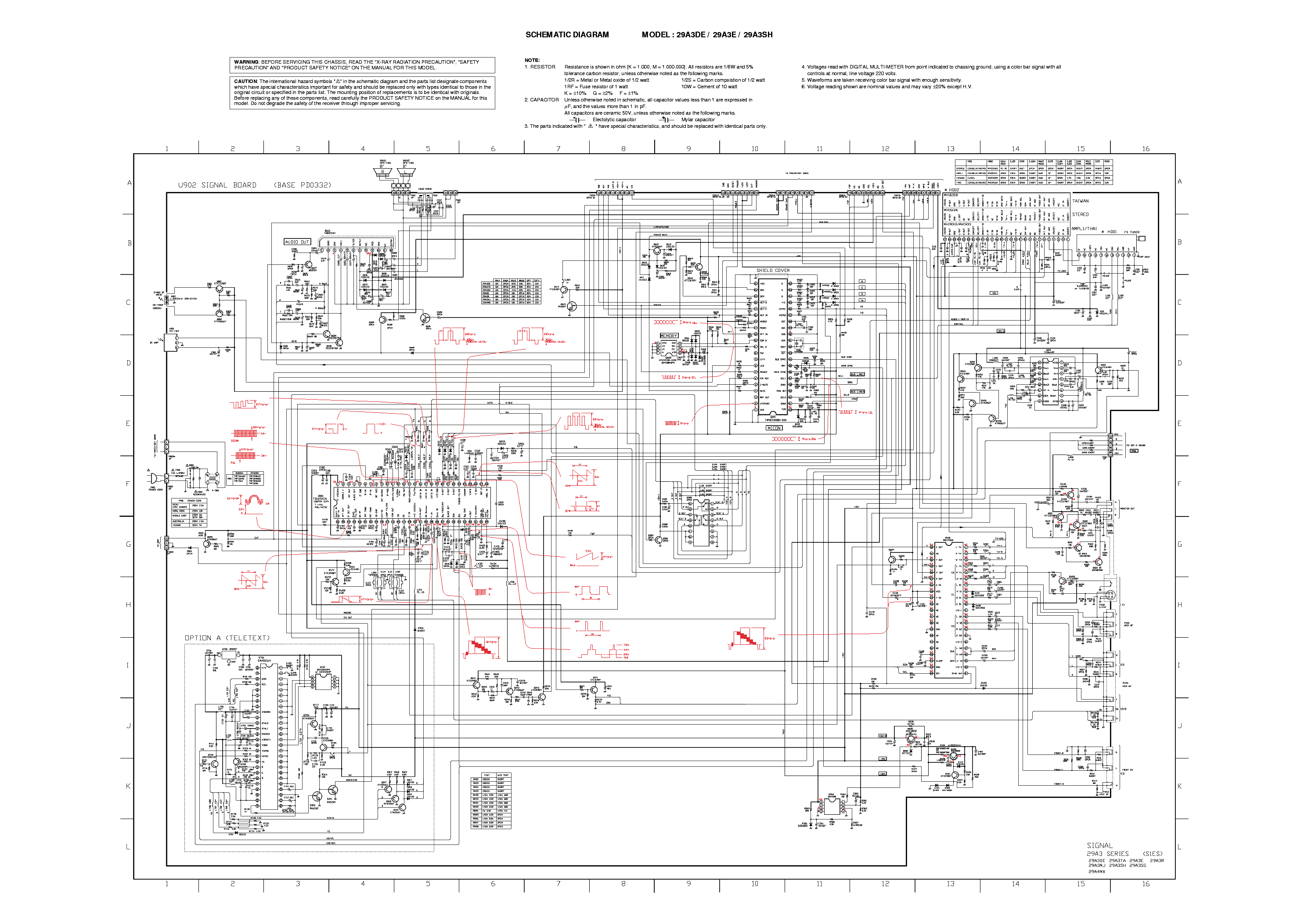 toshiba 2939db circuit diagram 2 page preview