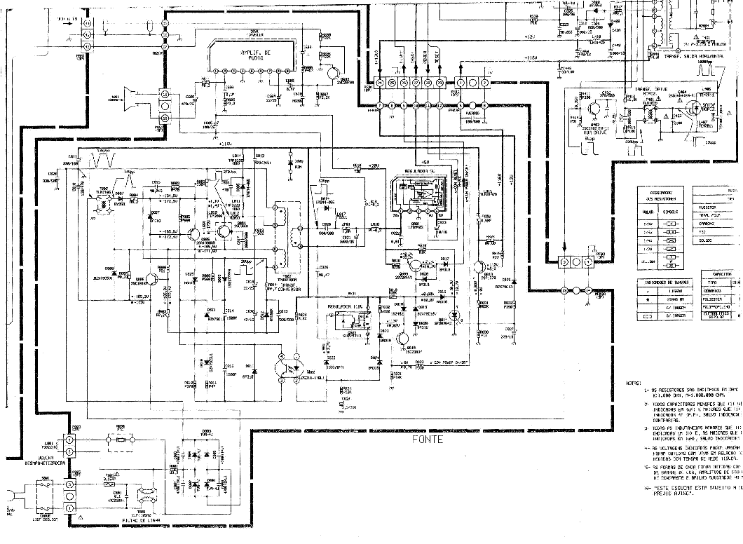 toshiba 42wh18p circuit diagram 1 page preview
